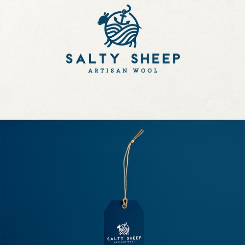 logo for artisan wool company