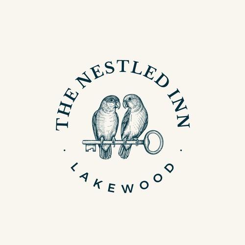Logo design for high-end, boutique rental company - The Nestled Inn