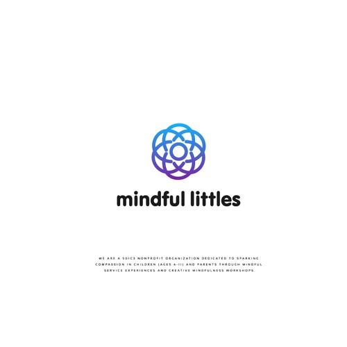 Logo Design for Nonprofit- Mindful Littles