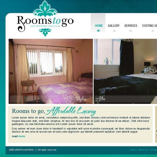 Interior Design Company - Needs Webpage Design