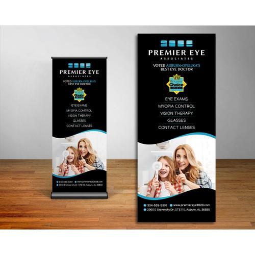 Banner Re-design Premier Eye Associates
