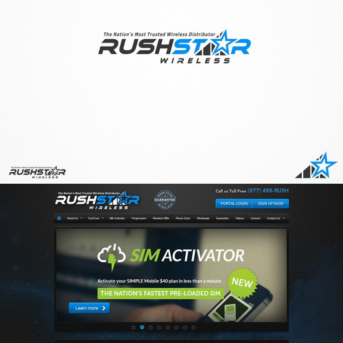 Help us at Rush Star Wireless re-brand our logo!