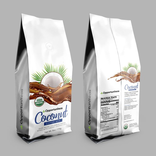 coconut coffee package