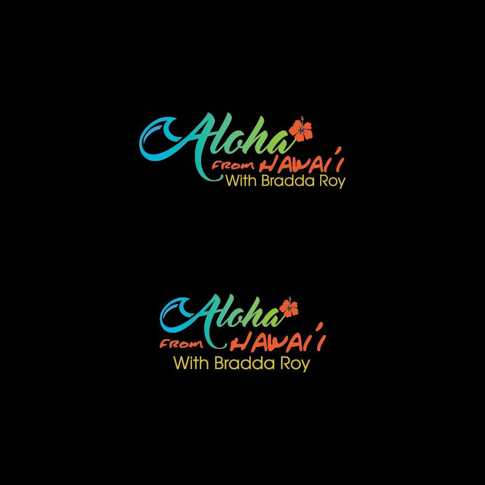 Design a logo for a groundbreaking, digital comedy set in Hawai'i.