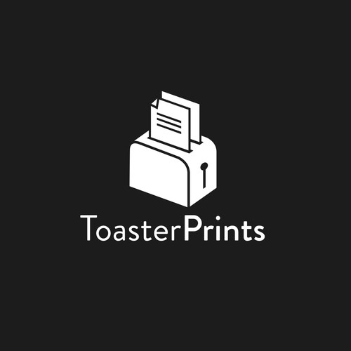 Toaster Prints logo concept