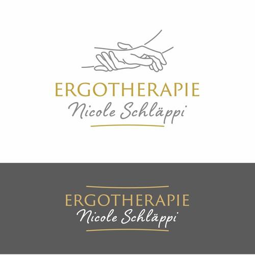 Ergotherapie logo design