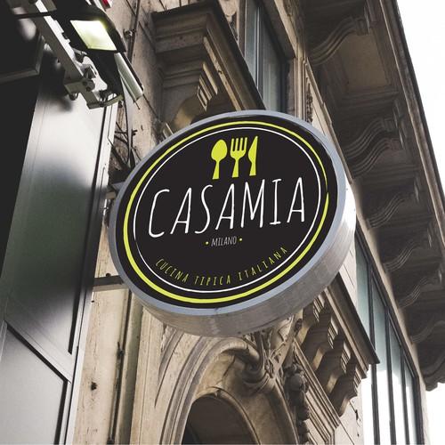 Proposta logo Casamia