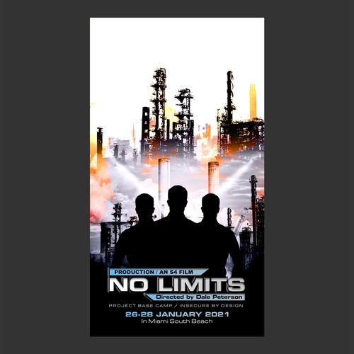 No limited themed poster design