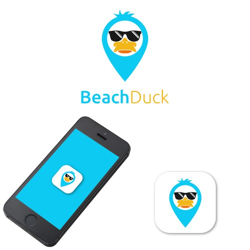 LOGO FOR BEACH DUCK