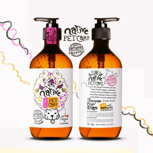 Native Petcare, natural dog shampoo