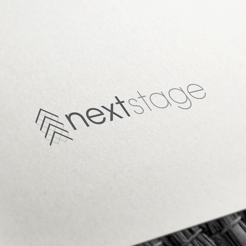 Modern and Sophisticated Abstract Logo Design for Multimedia Marketing Agency