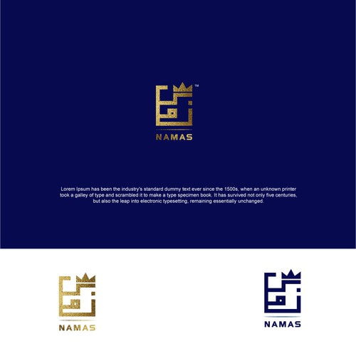 NAMAS Logo design