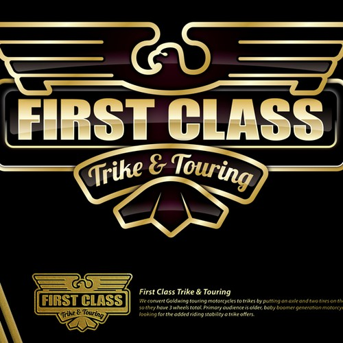 First Class Trike & Touring needs a new logo