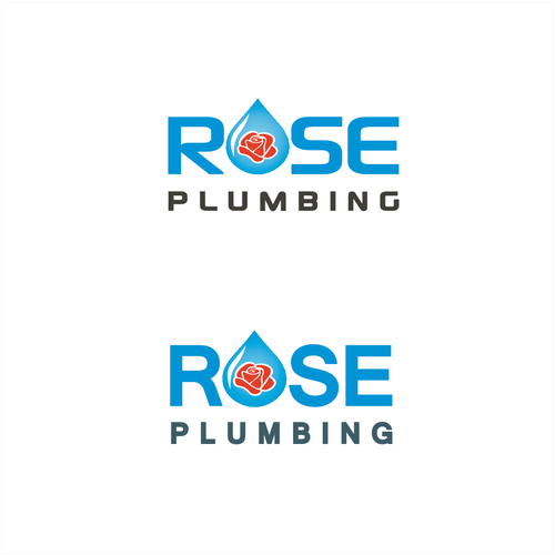 logo concept for rose plumbing(9)