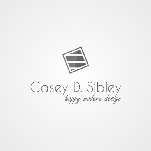 Creating a logo for Casey D. Sibley Art + Design