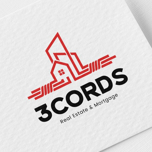 Logo design for Real Estate group 3Cords