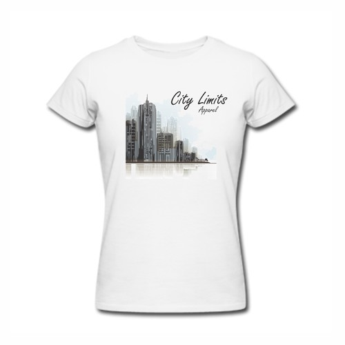 Create  a bold winning T-shirt design for City Limits Apparel