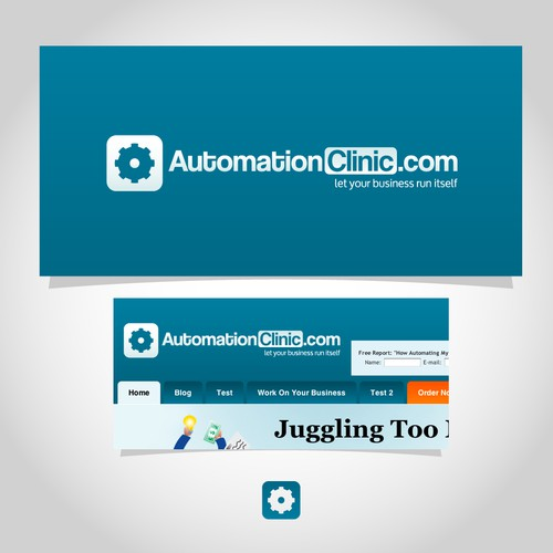 Logo designed for a business automation website