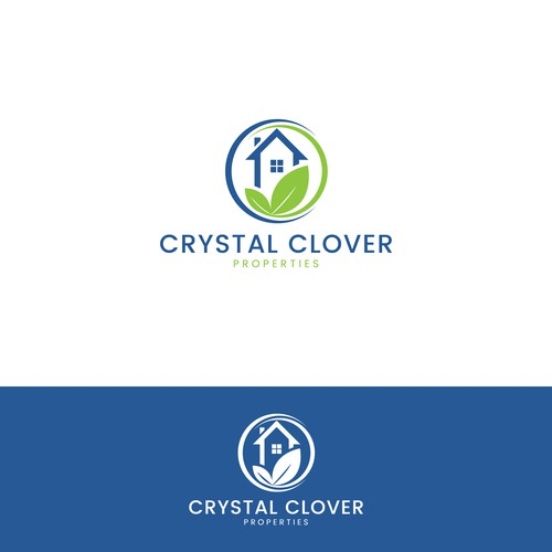 Logo consept for Crystal Clover