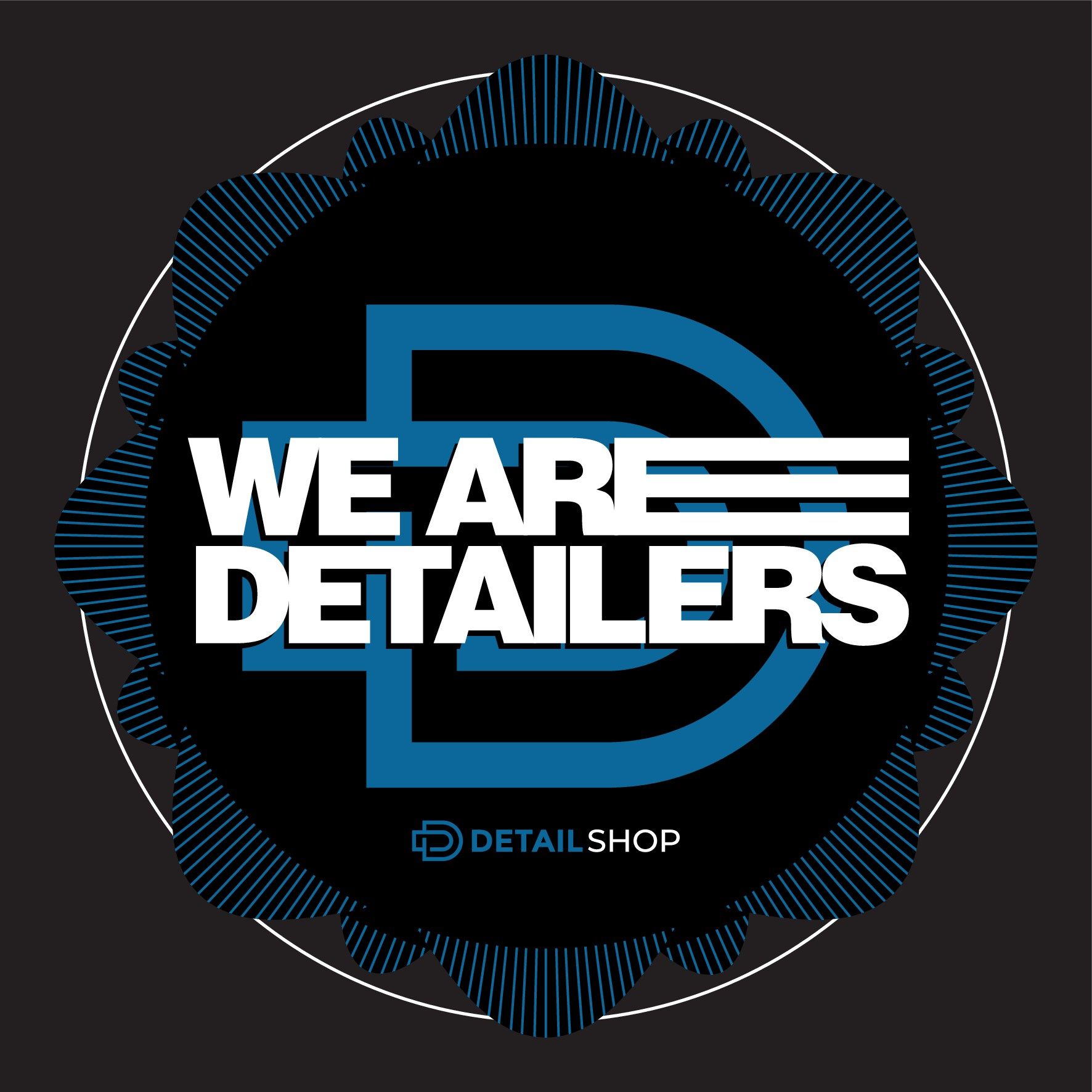 Cool T-shirt design for detailers