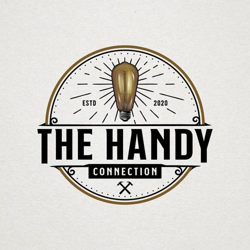 Vintage Logo for Electrical and Home Remodeling Industry
