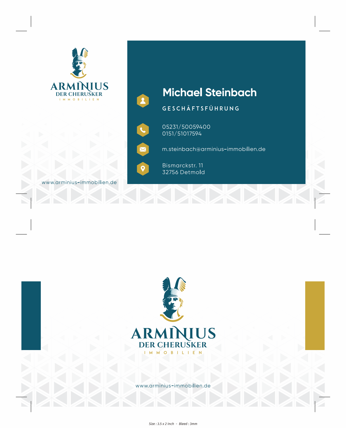 small logo change an business cards