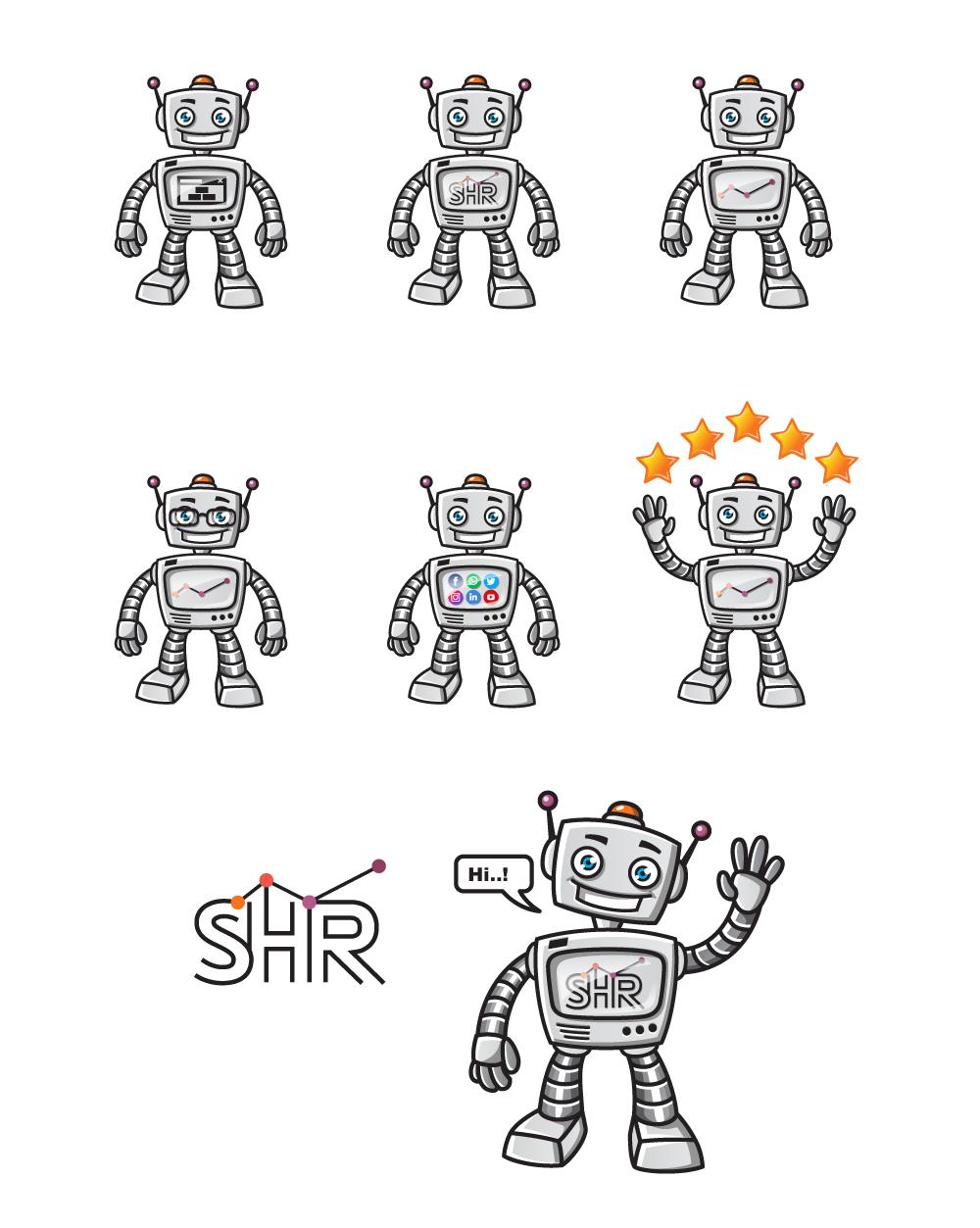 Refining & Vectorizing Robots