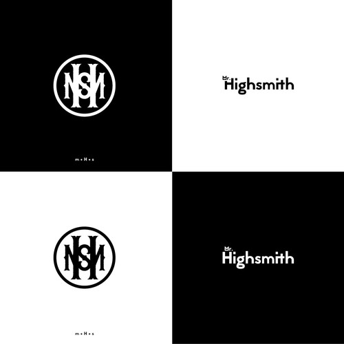 personal branding (monogram and logo type)