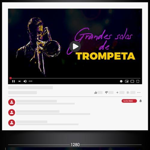 In contest Trumpet music