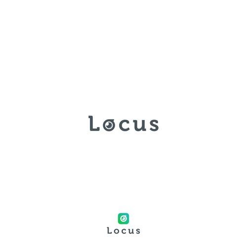 Locus logo concept
