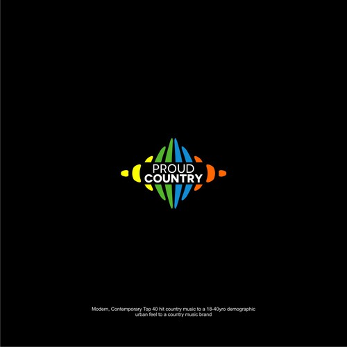 PROUD COUNTRY MUSIC RADIO LOGO