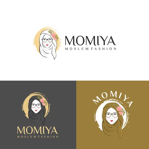 Beauty logo for moslem fashion