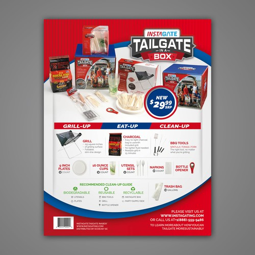 Tailgate Sales Sheet