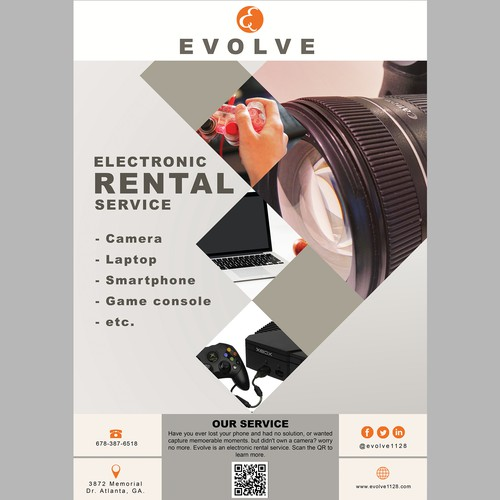 electronic rental service