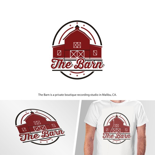 Logo proposition for recording studio The Barn