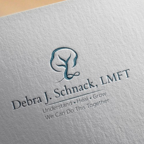 Logo design for psychotherapy practice