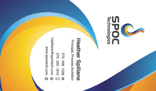 SPOC Technologies Business Cards