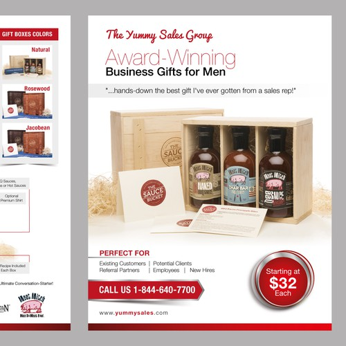 Flyer for Yummy Sales Group