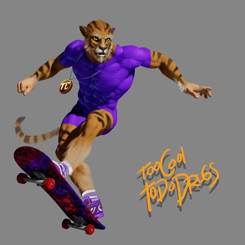 Tiger Skater