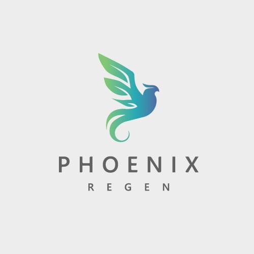Logo Design Phoenix Regen