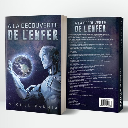 Book Cover for A la decouverte de l'enfer