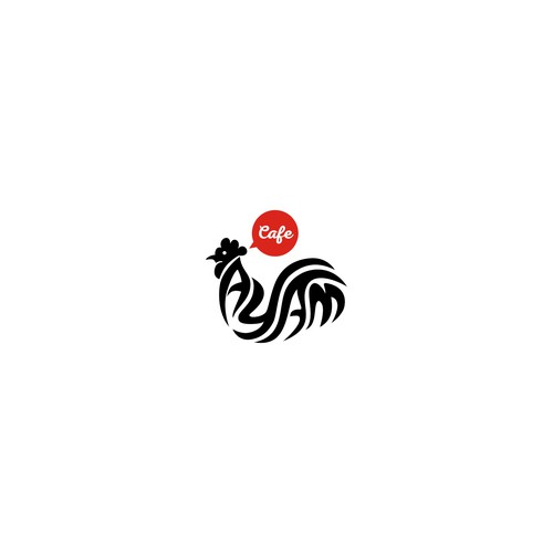 Logo Concept for CAFE AYAM