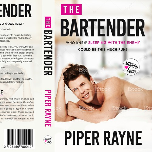 The Bartender - Book Cover