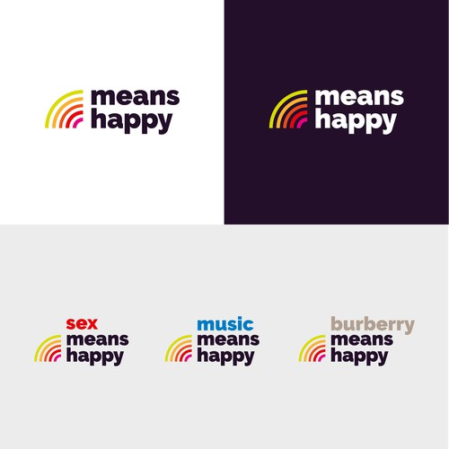 Logo brand design for LGBT media company