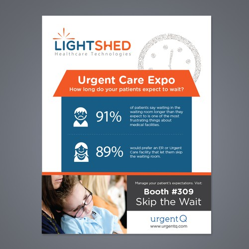 New postcard, flyer or print wanted for Lightshed Healthcare Technologies