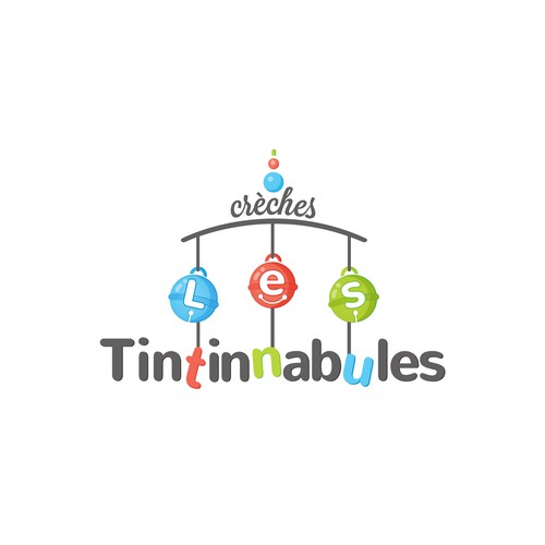 Logo for childcare company 'Les Tintinnabules'