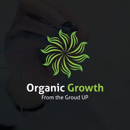 Organic Growth logo concept