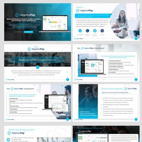 Global Payroll Presentation Design