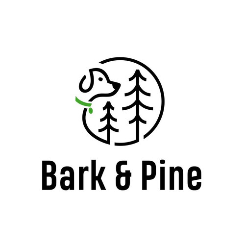 Logo Design for Bark & Pine