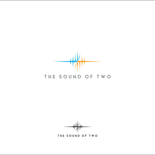 Create a bold, modern, sharp logo for a music production team